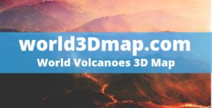 World Map of Volcanoes erupting