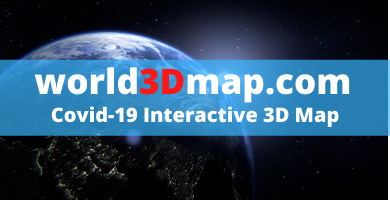 Covid-19 Interactive 3D Map