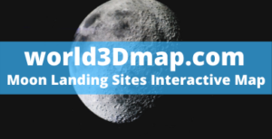 Moon Landing Sites Interactive Map 🌚