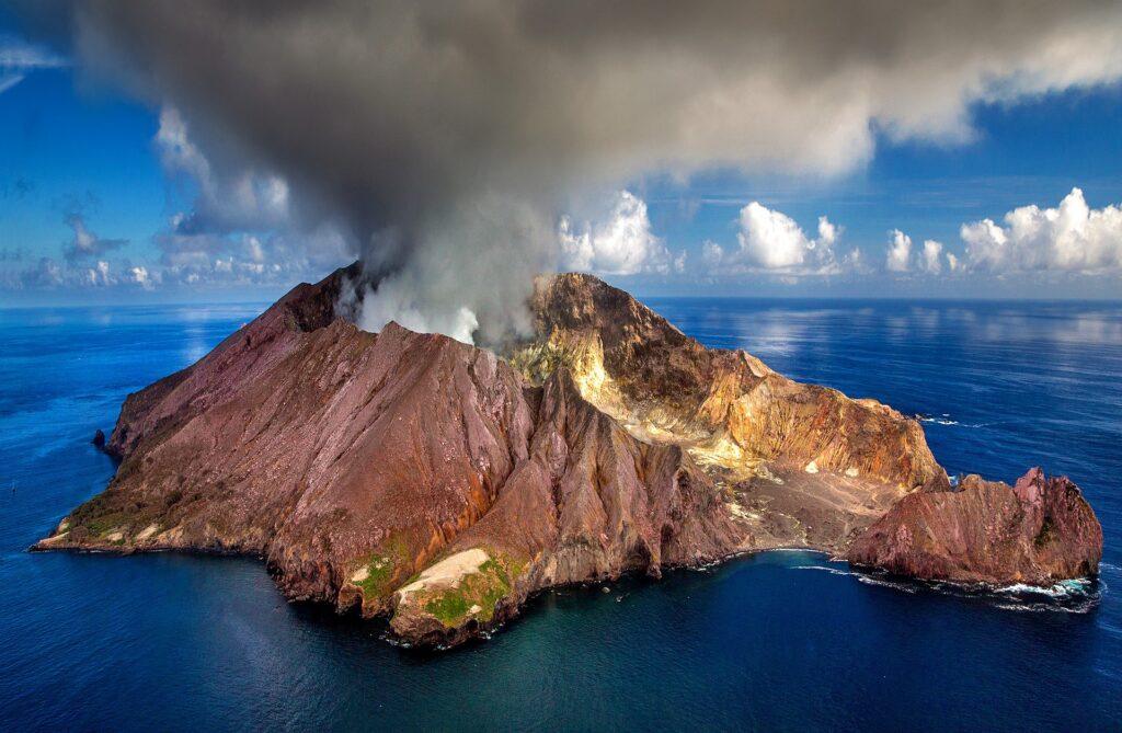 World Map of volcanoes