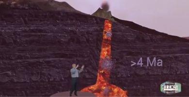 Que hay debajo del Volcán La Palma