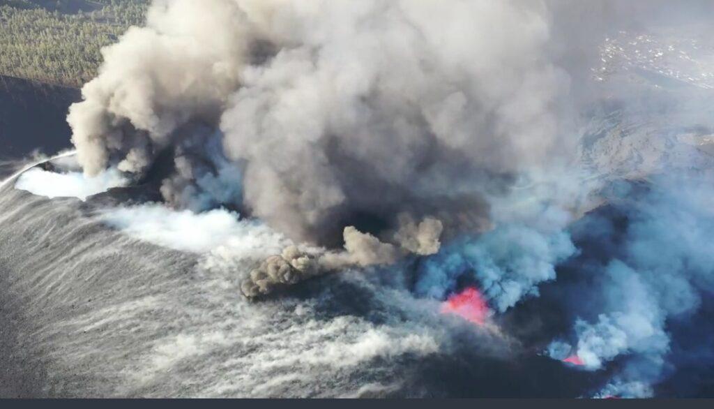Tipos de colada de lava