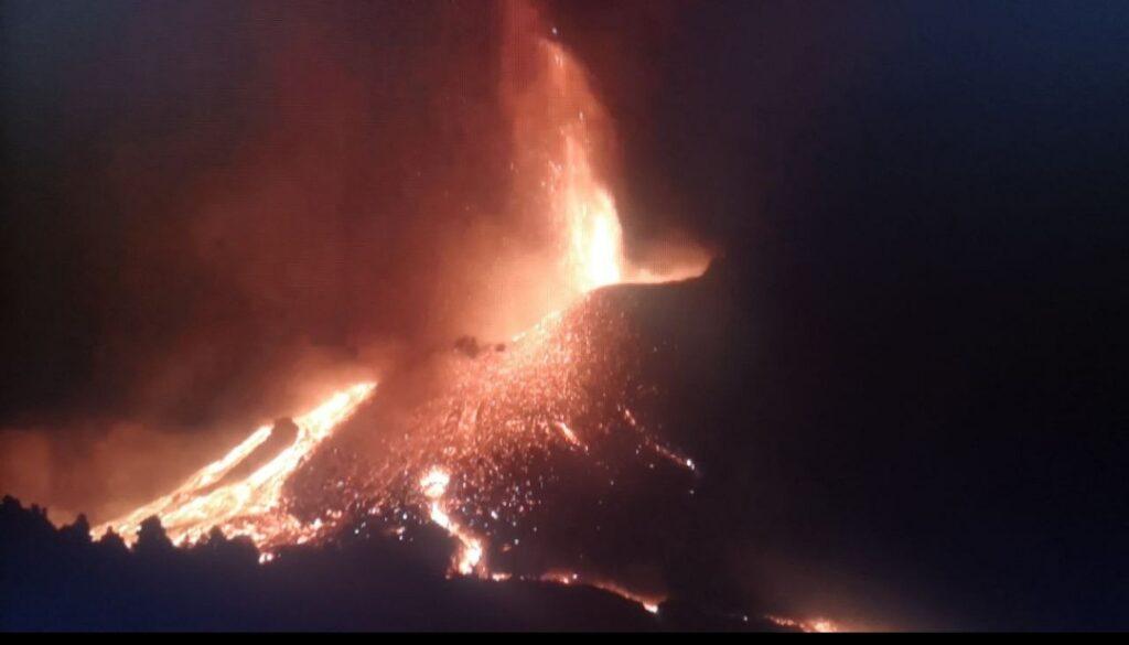 Volcán La Palma - 11 de octubre 2021