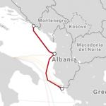 Adria 1 Undersea Cable